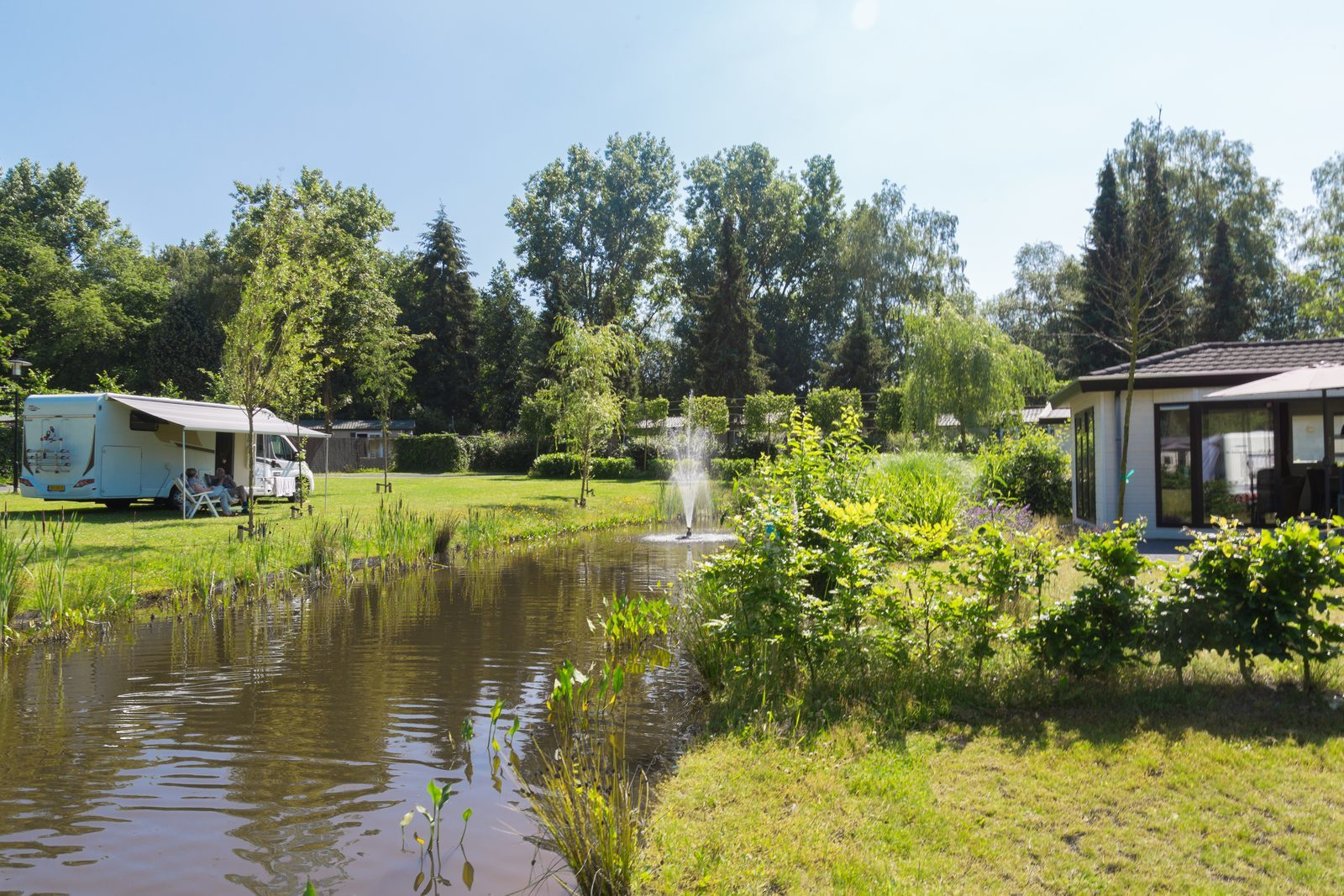 Ferienhäuser & Camping-Stellplätze | Ferienanlage De Wielerbaan