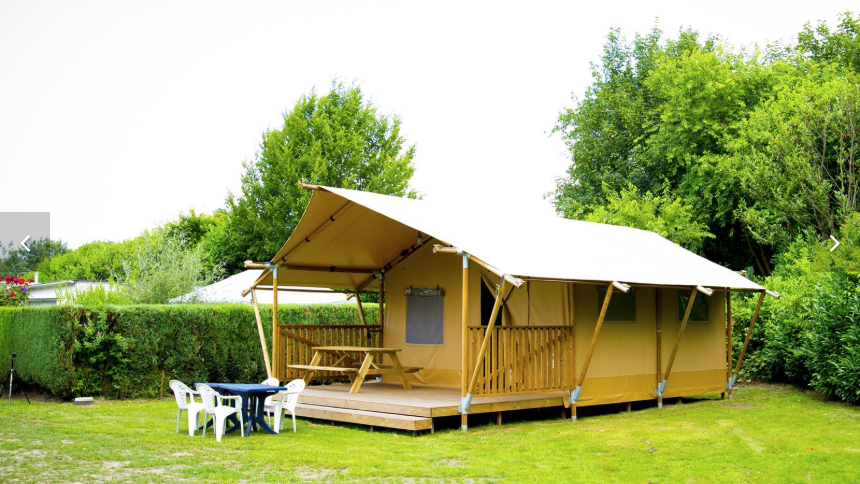 Glamping accommodaties
