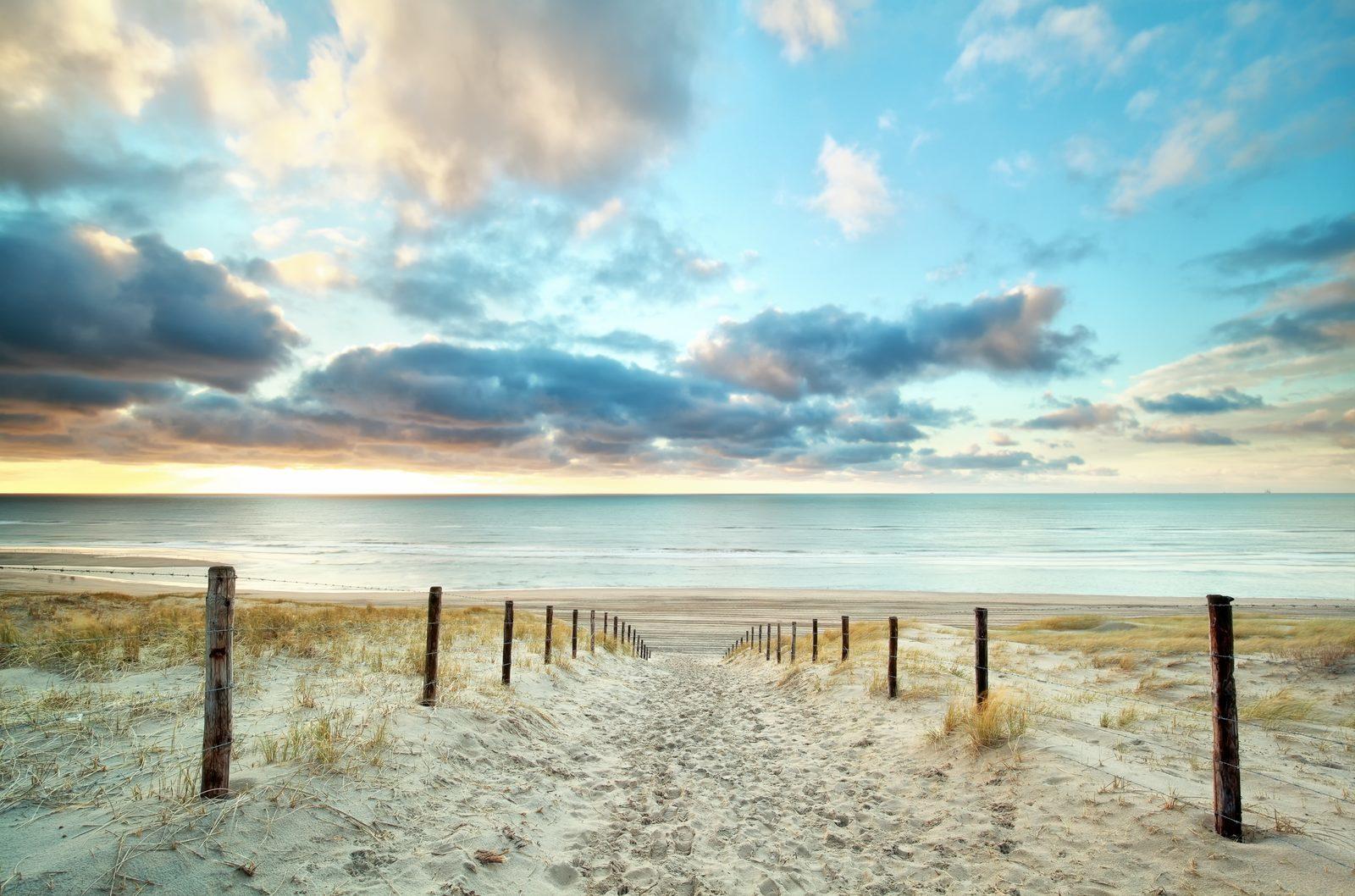 Aan de Nederlandse kust