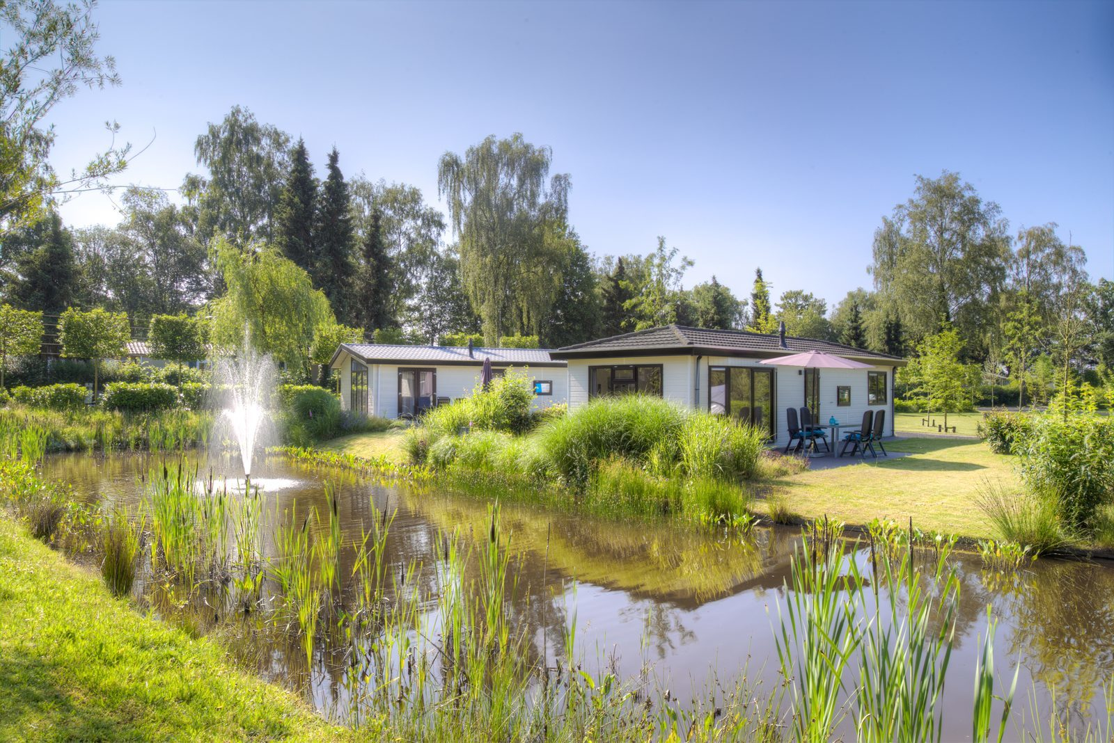 Holiday accommodations for sale at Holiday Park De Wielerbaan