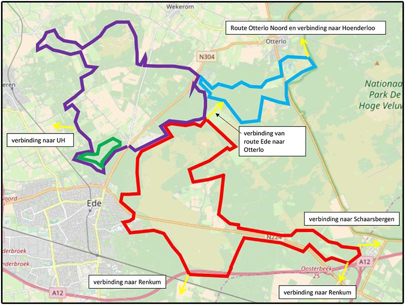 Itinéraires VTT près d'Ede et Lunteren