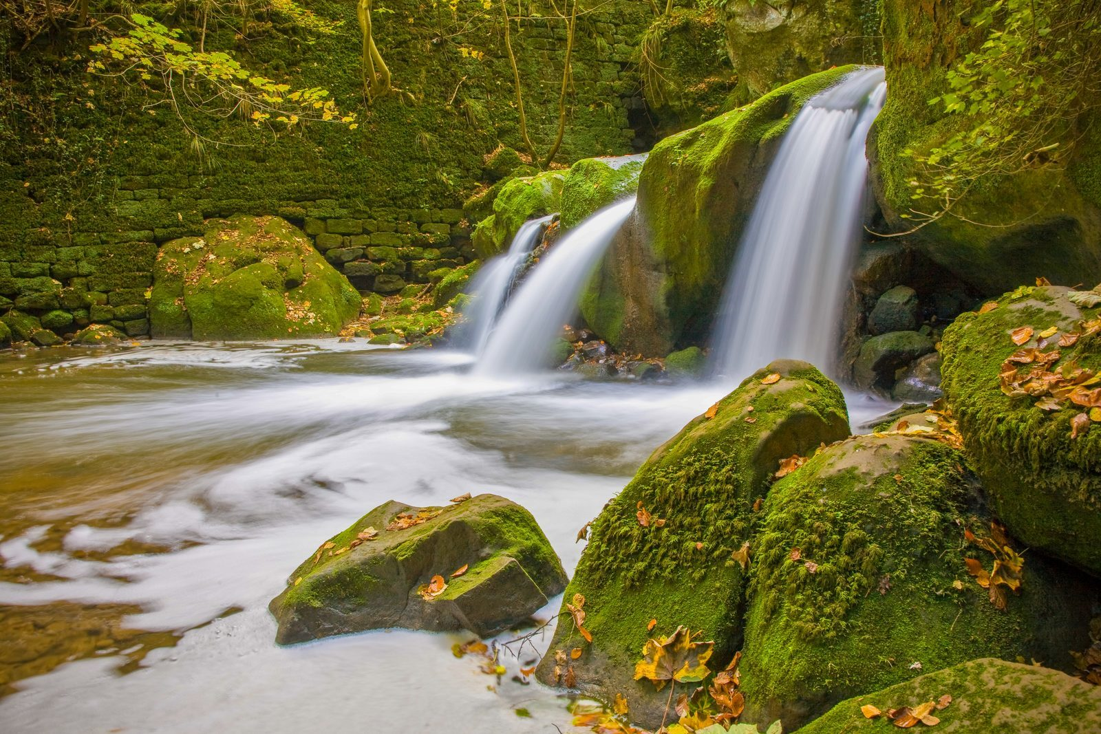 Waterfall from Mullerthal to visit from Walsdorf