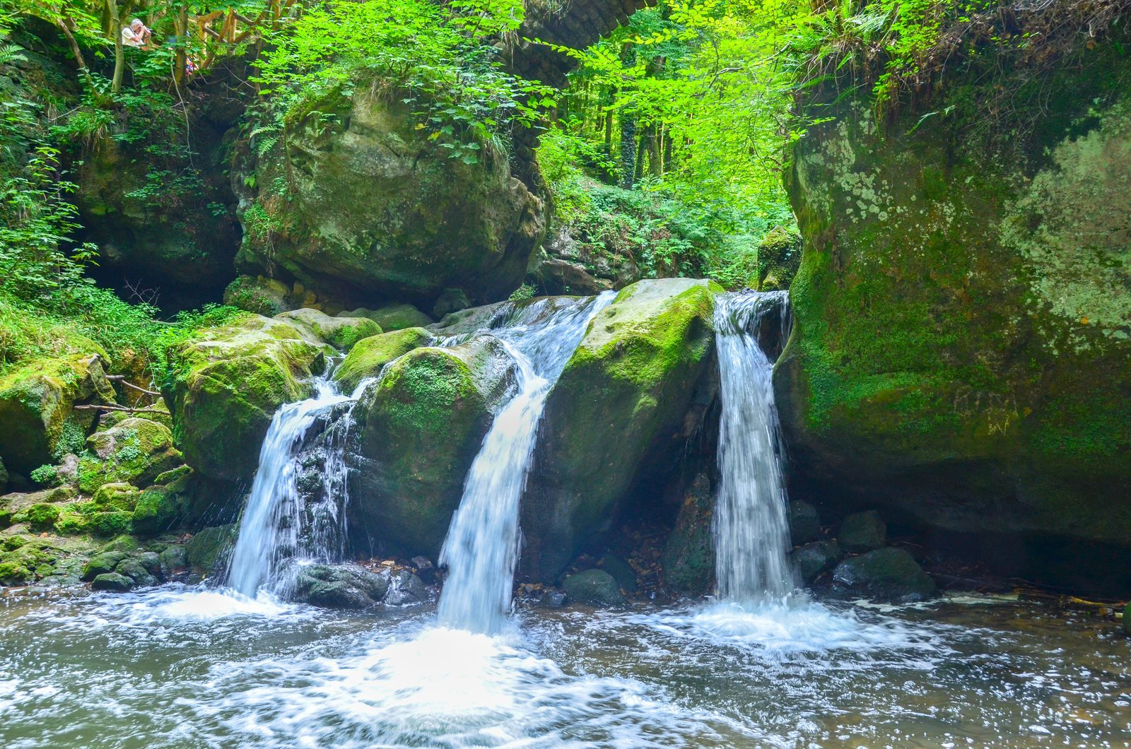 Wasserfälle Müllerthal