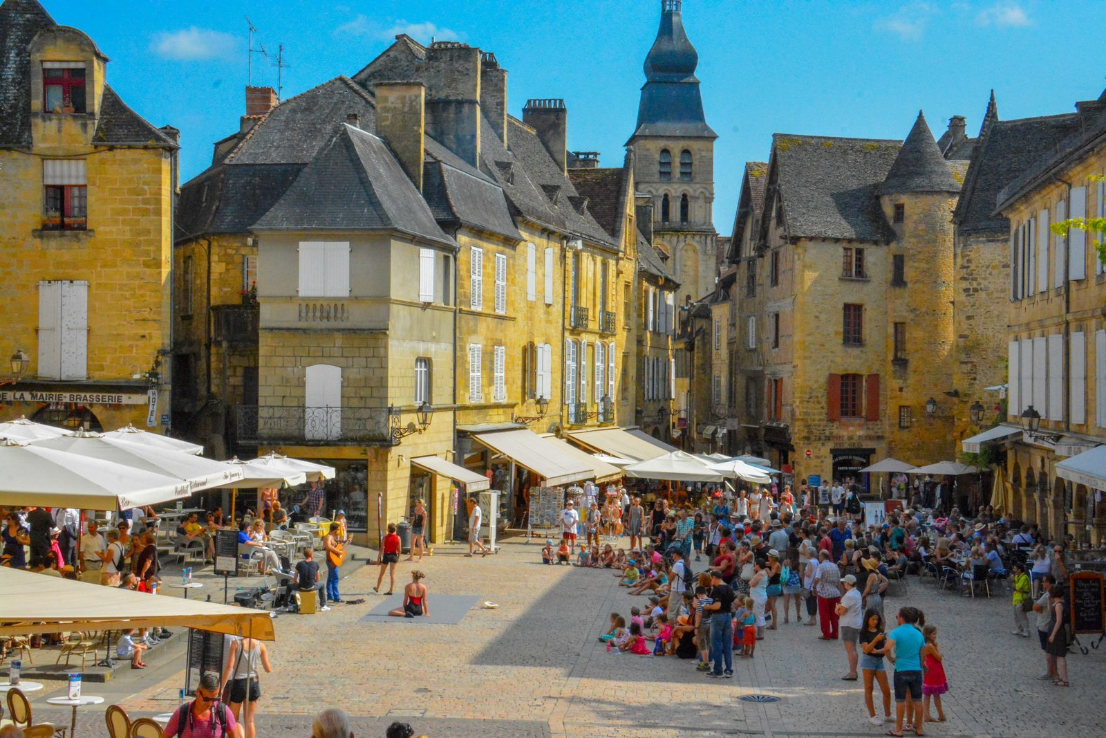 Sarlat near Beter Uit holiday park La Draille