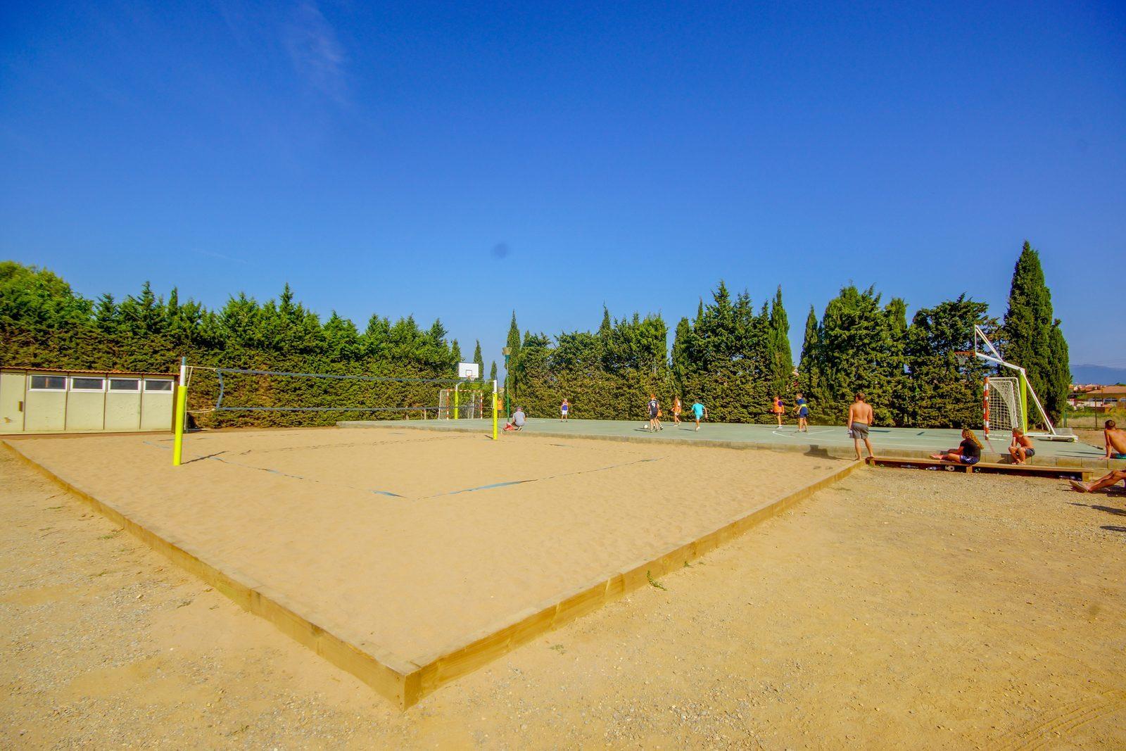Volleybalveld Vell Emporda