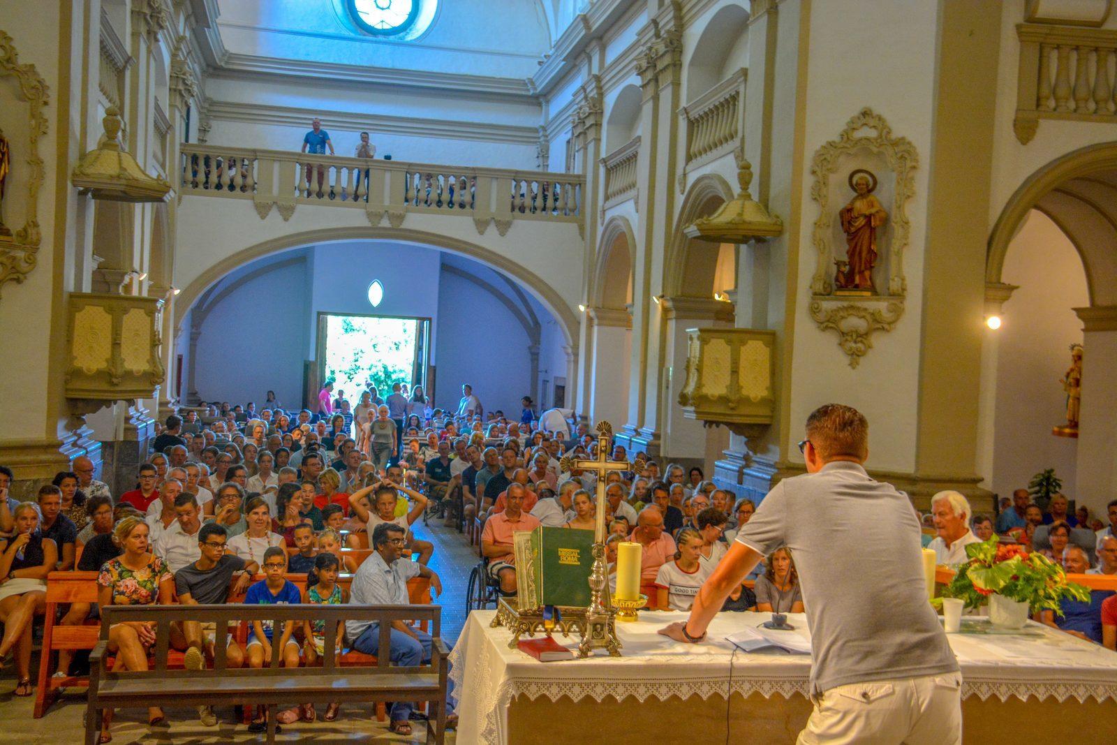 Garriguella kerkdienst