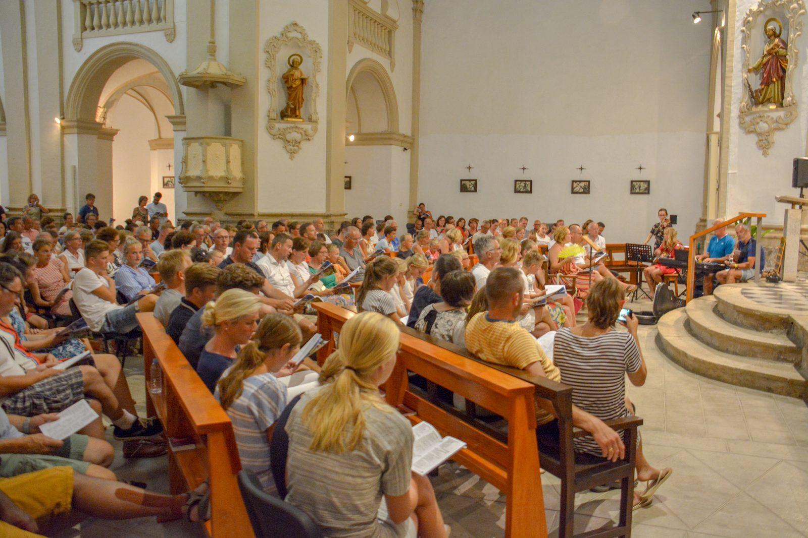Kerkdienst Garriguella