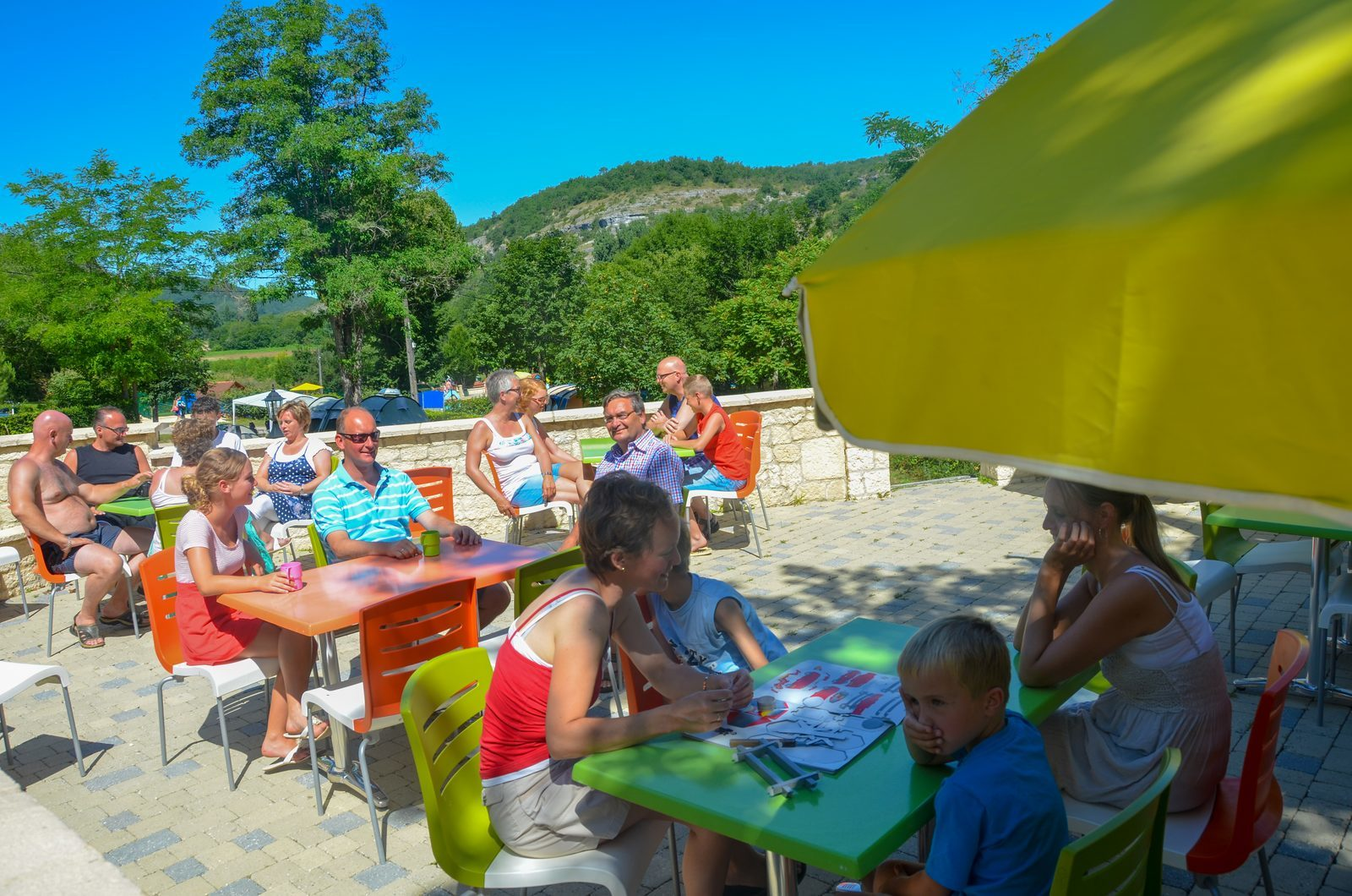Bon appétit au parc de vacances La Draille de Beter Uit