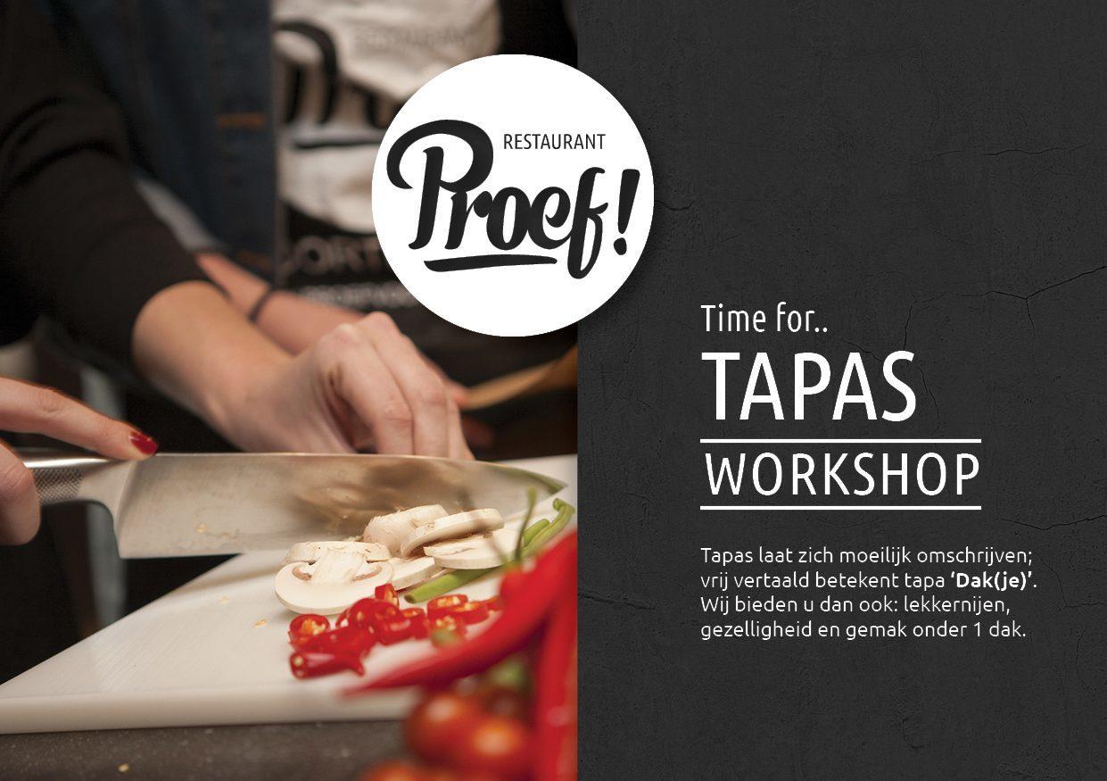Tapas Kookworkshop in Voorthuizen