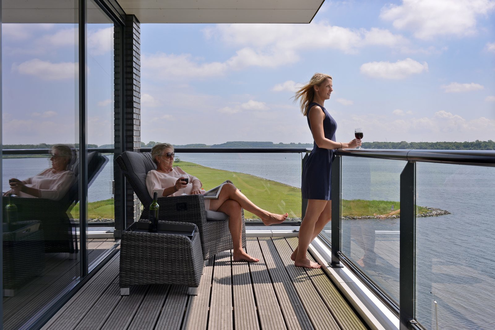 Luxus-appartments in Zeeland am Veerse Meer