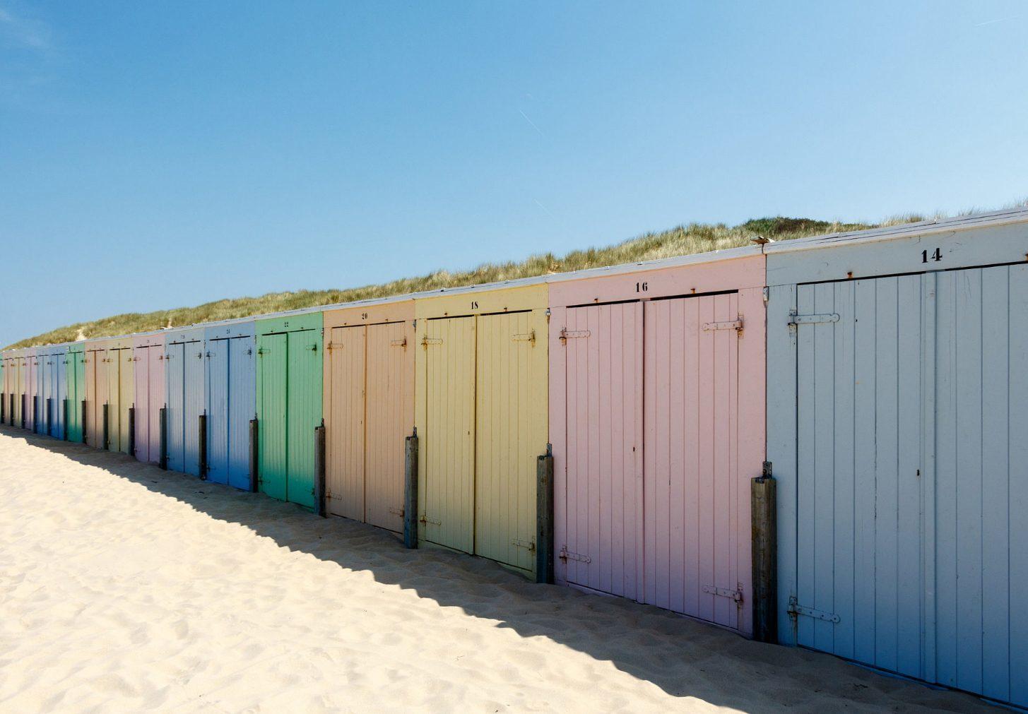 Strandhuisje huren zeeland banjaardstrand