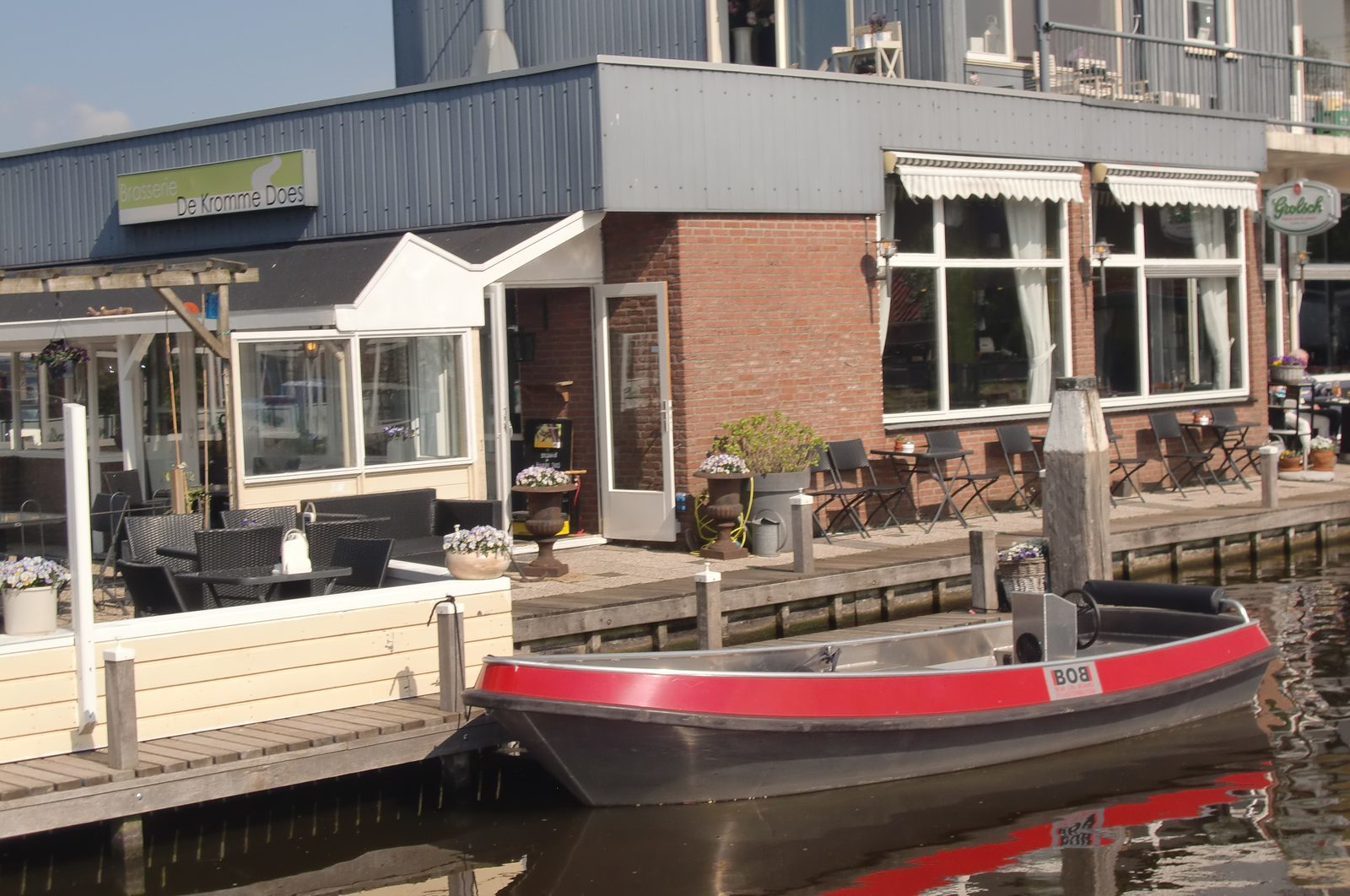 Rent your own electric boat