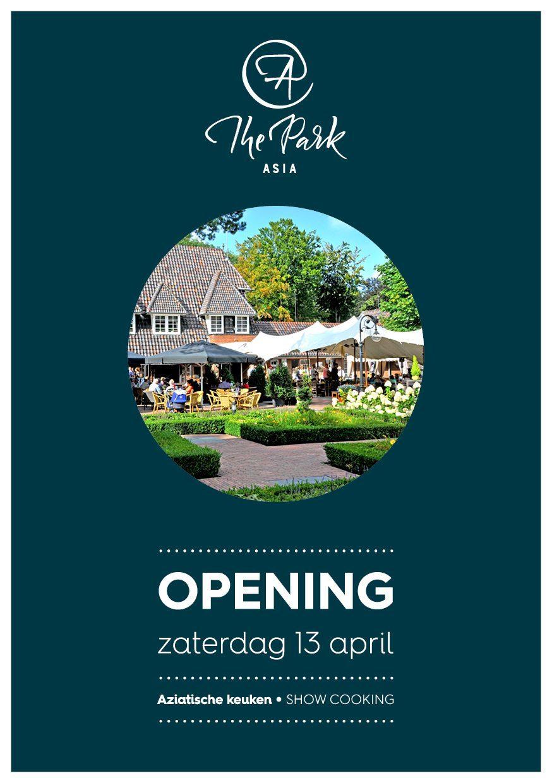 Opening restaurant @thePark Asia