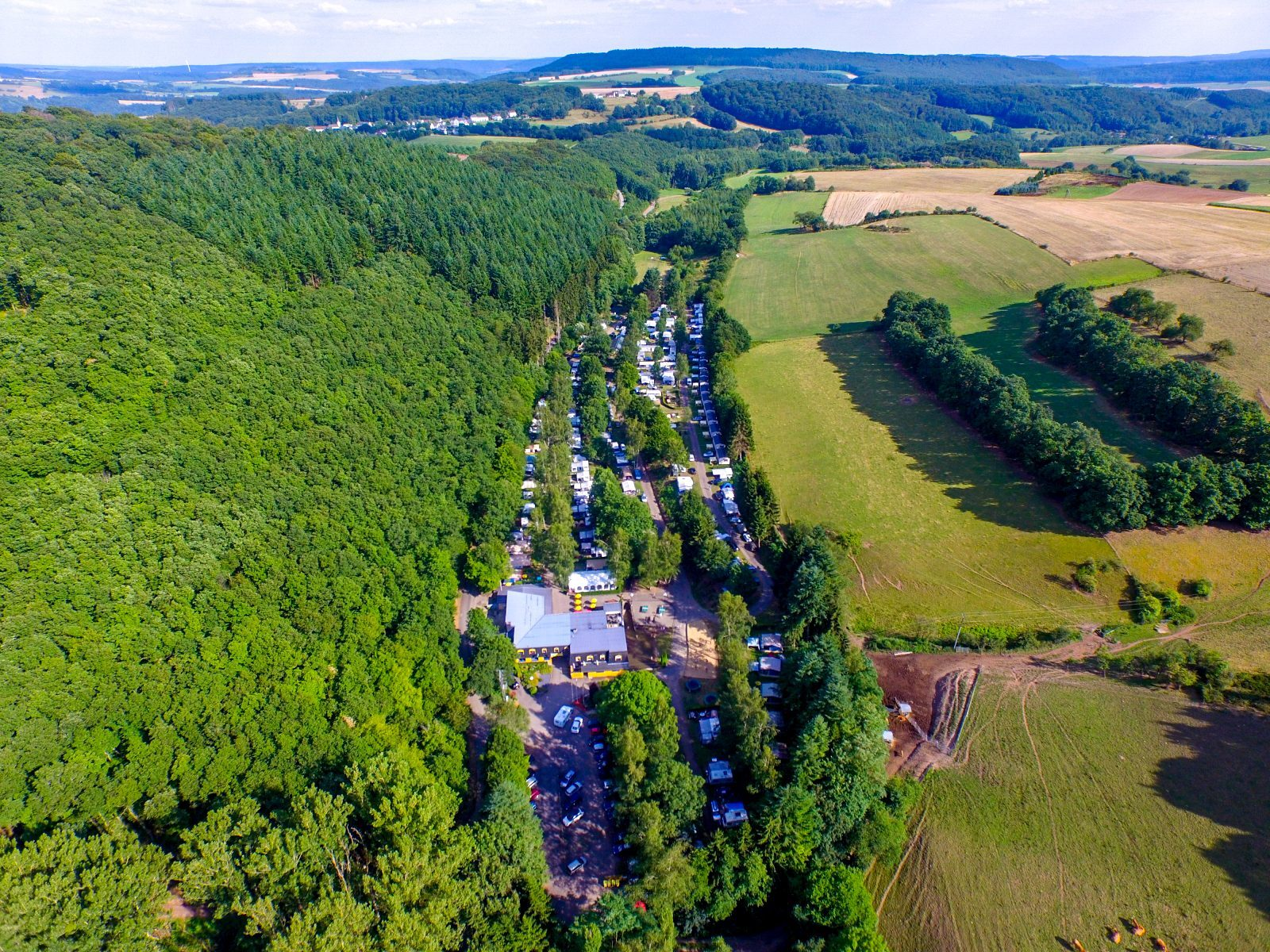 Walsdorf vanuit de lucht