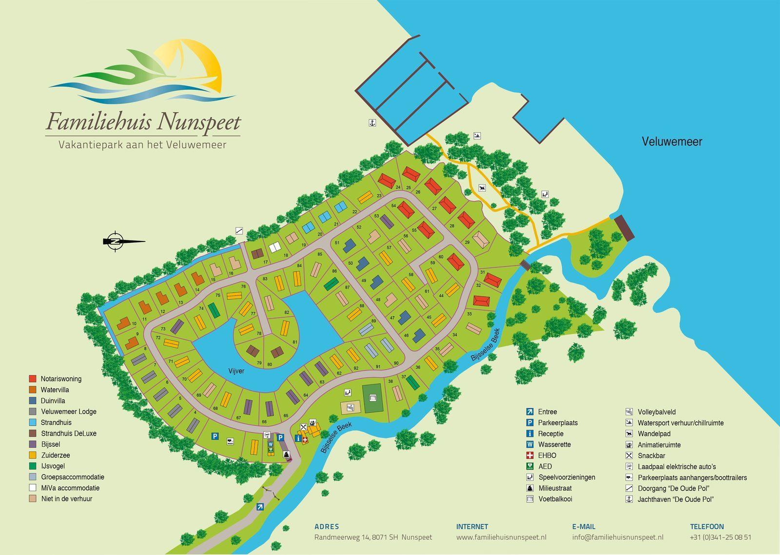 Map Family Home Nunspeet (pdf)