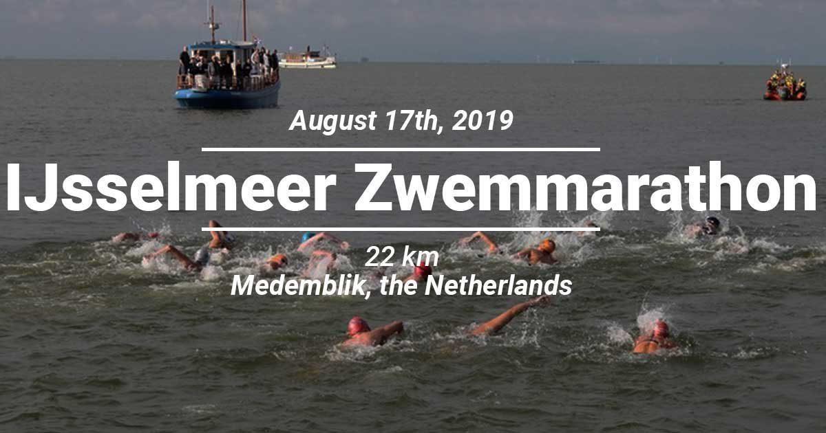 Ijsselmeer Zwemmarathon