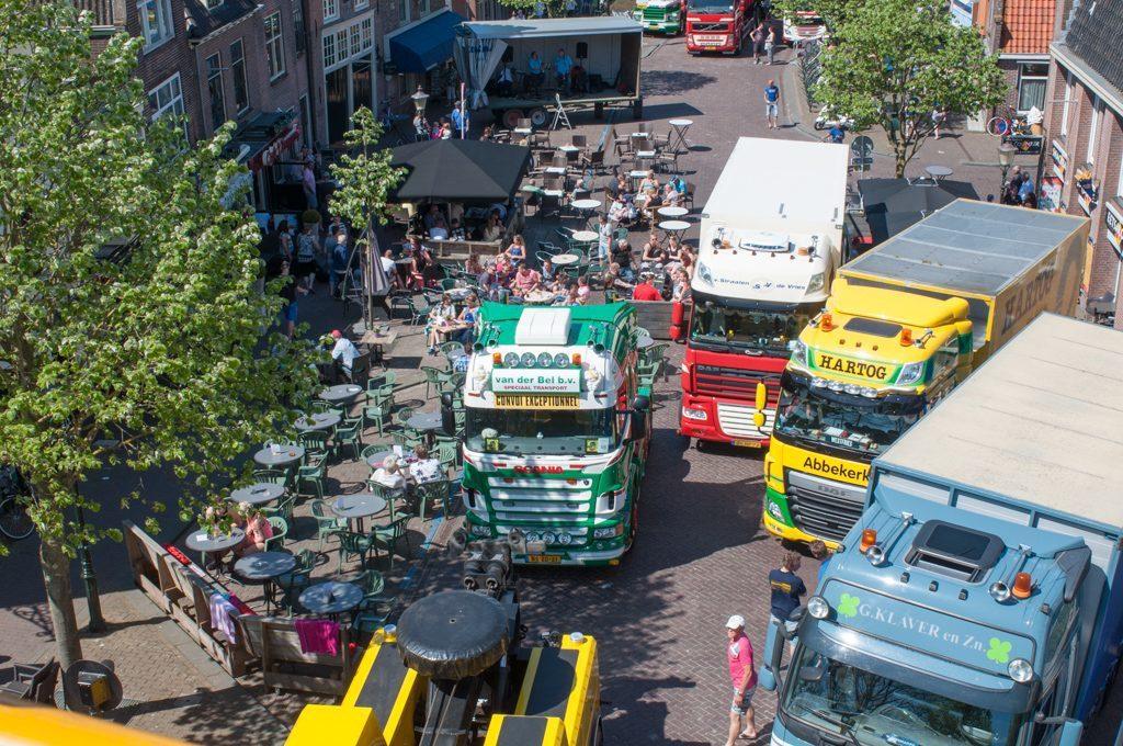 Lastwagen-Festival