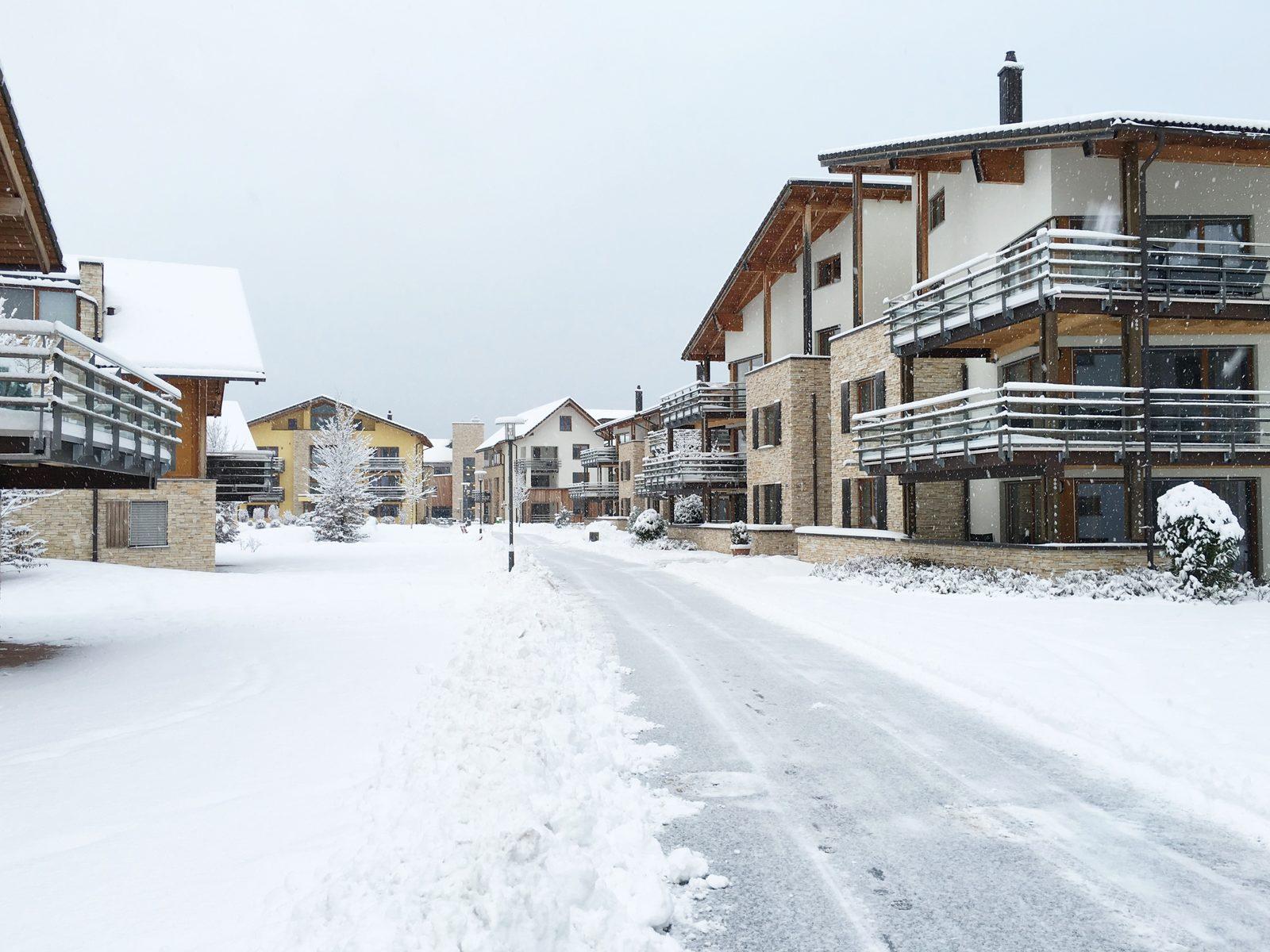 Von Ihrem Ferienhaus oder Apartment aus in Resort Walensee können Sie in 20 Minuten auf dem Flumsberg snowboarden während Ihres Wintersporturlaubs