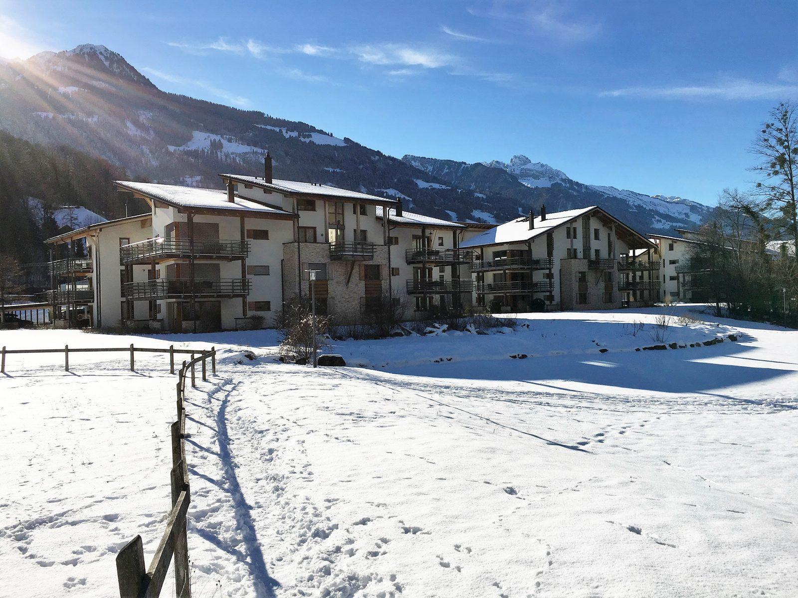 Resort Walensee Heidiland Flumsberg Schweiz, am Fuße des Flumsbergs, für einen perfekten Wintersporturlaub auf Skiern