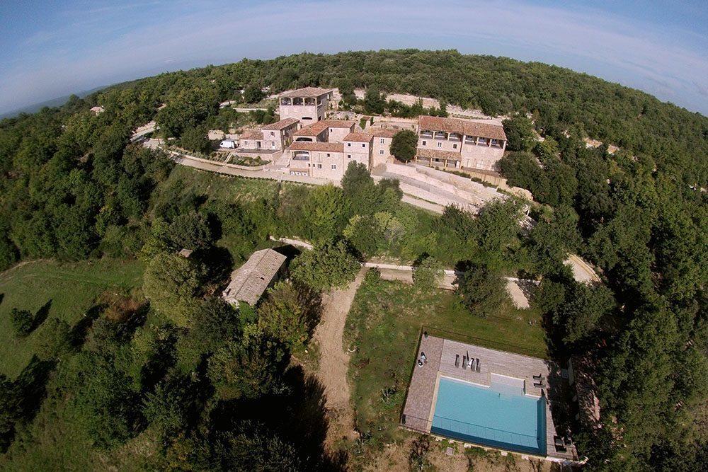 Domaine la Vallée sur Cèze kleinschalig vakantiedomein in de Gard