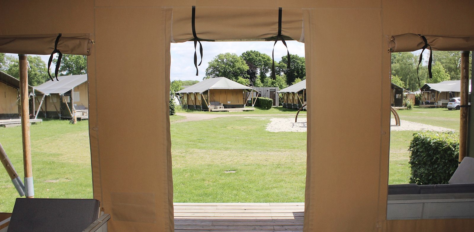 Glampings' Stories #2 Safaricottage De Boshoek
