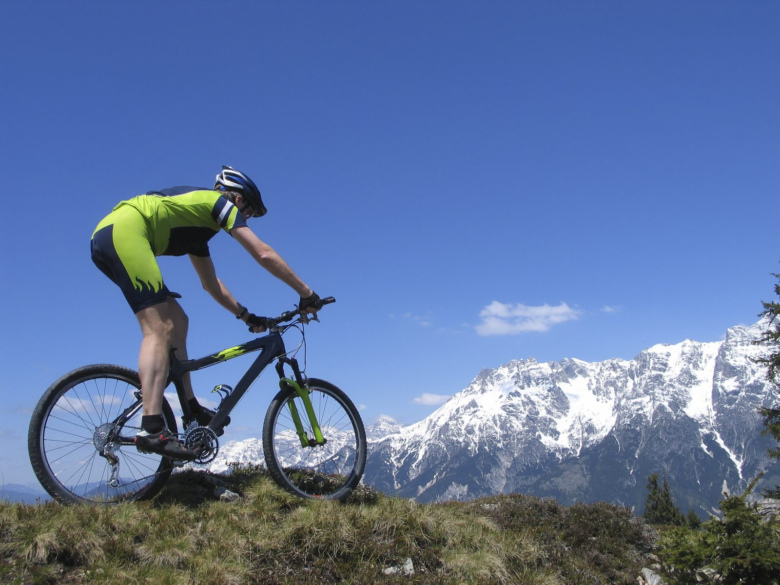 Cycling and mountain biking