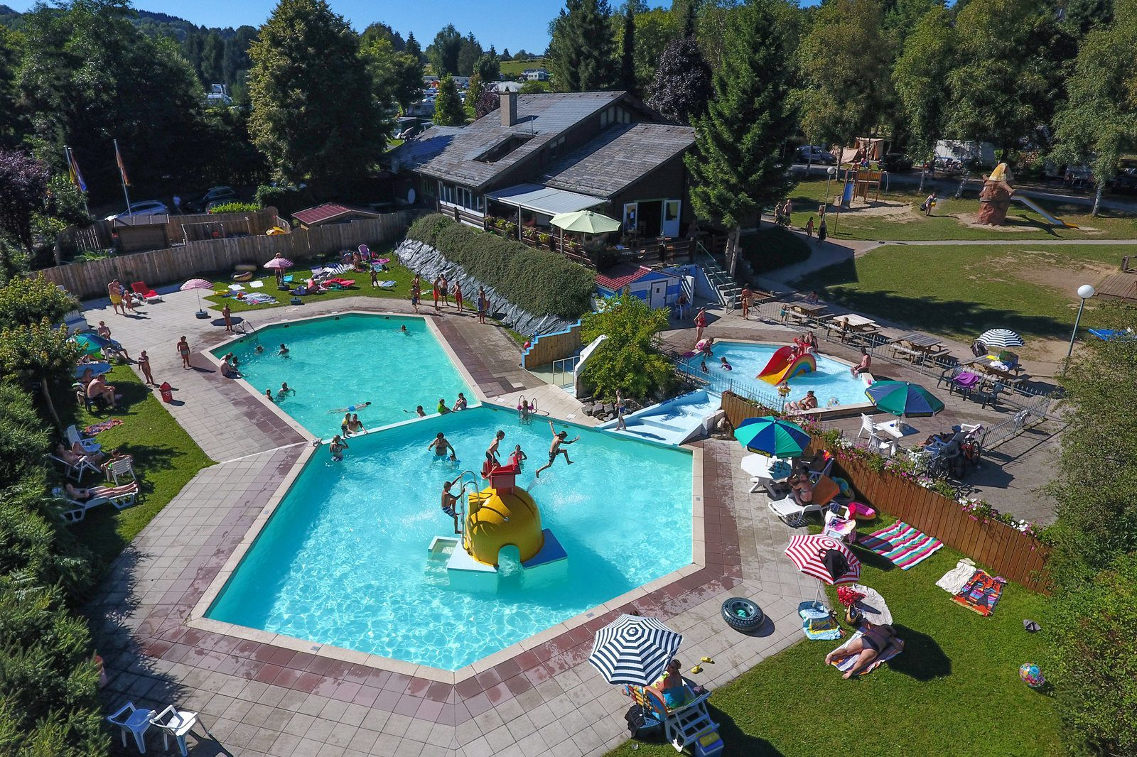 Zwembad Petite Suisse