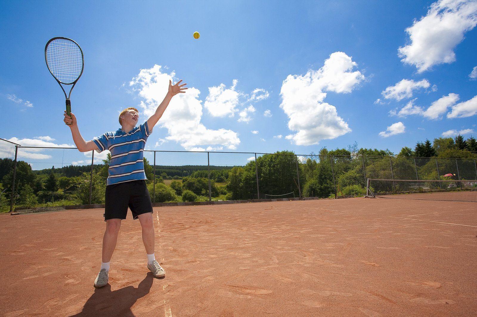 Tennisbaan Petite Suisse