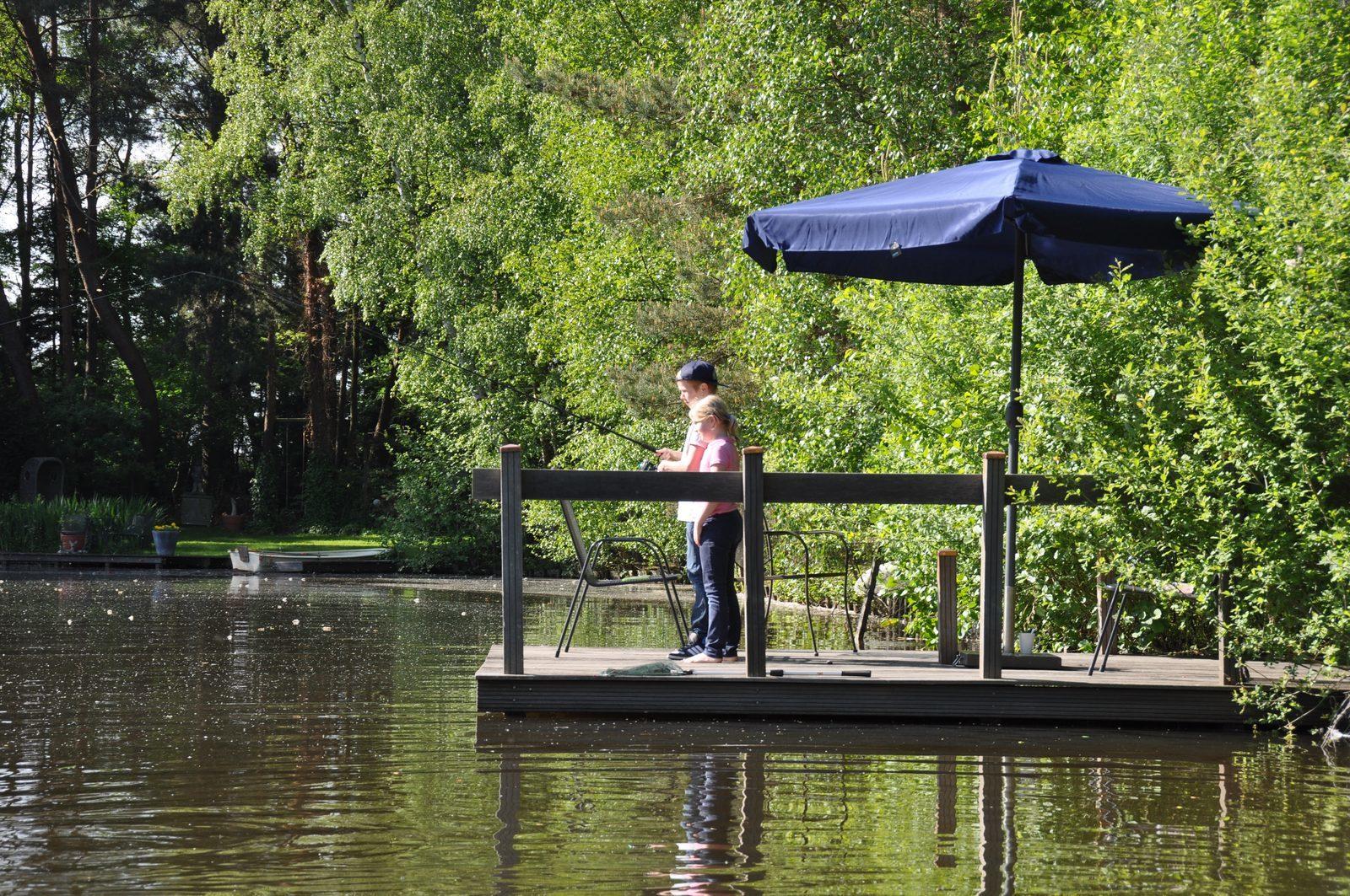 Villa Vechtdal, vakantiehuis aan het water om te vissen en te varen