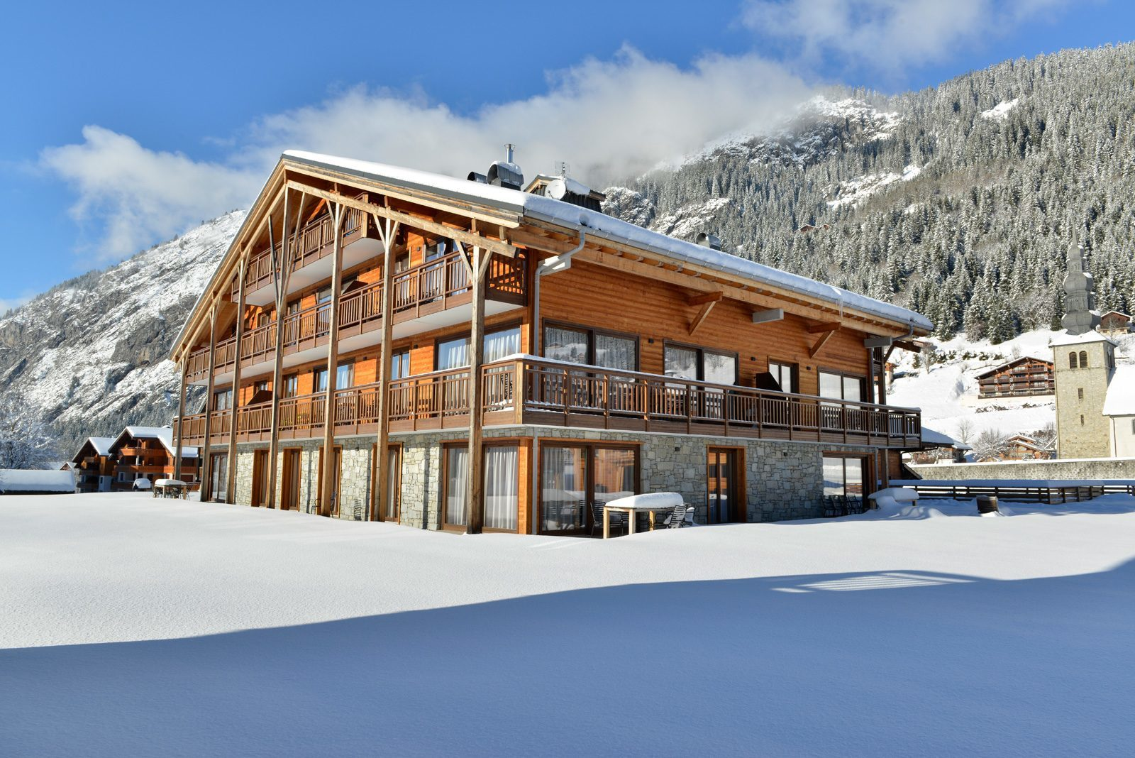 Grands appartements à 150m des pistes