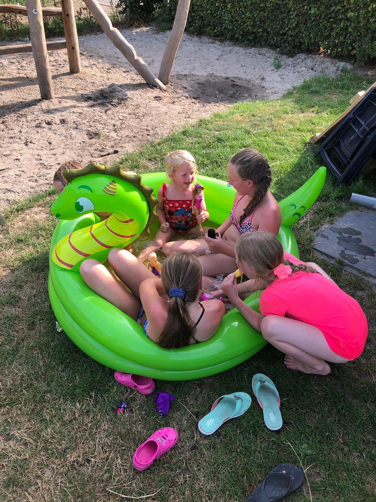 Samen spelen op vakantie op De Boshoek