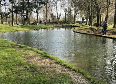 L'étang du Moulin bleu