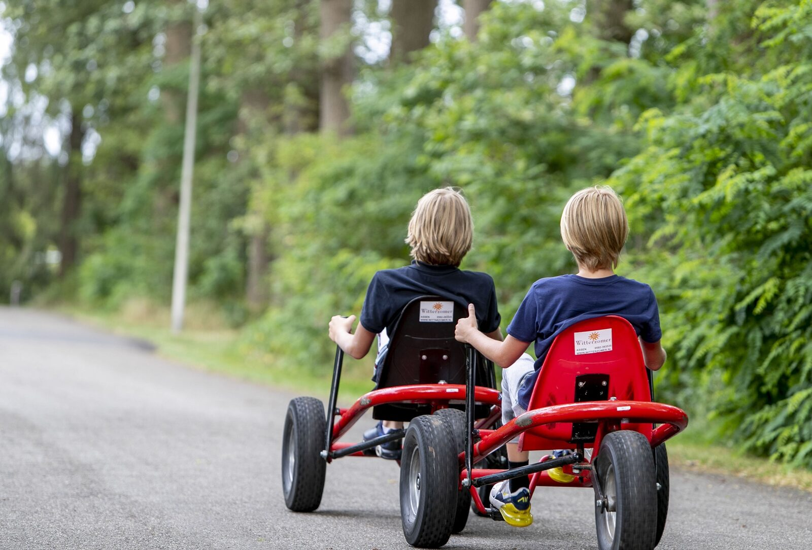Bicycle and kart rental services