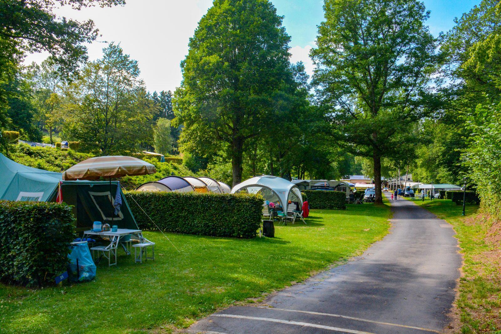 Kampeerplaatsen op Walsdorf