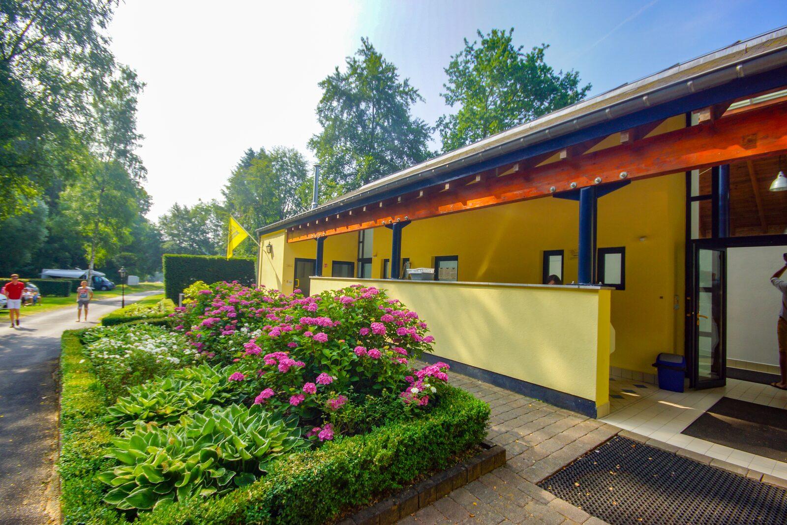 Installations sanitaires de Walsdorf à l'extérieur