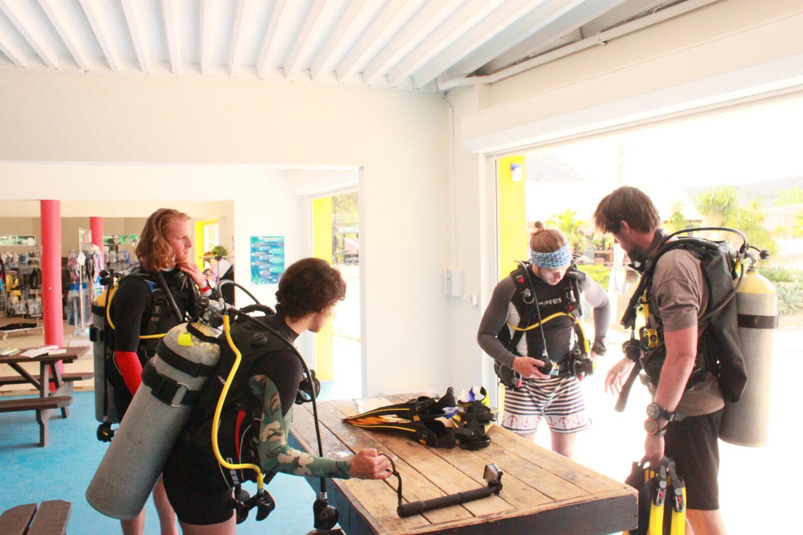 PADI Advanced Open Water Bahia Diving Curacao