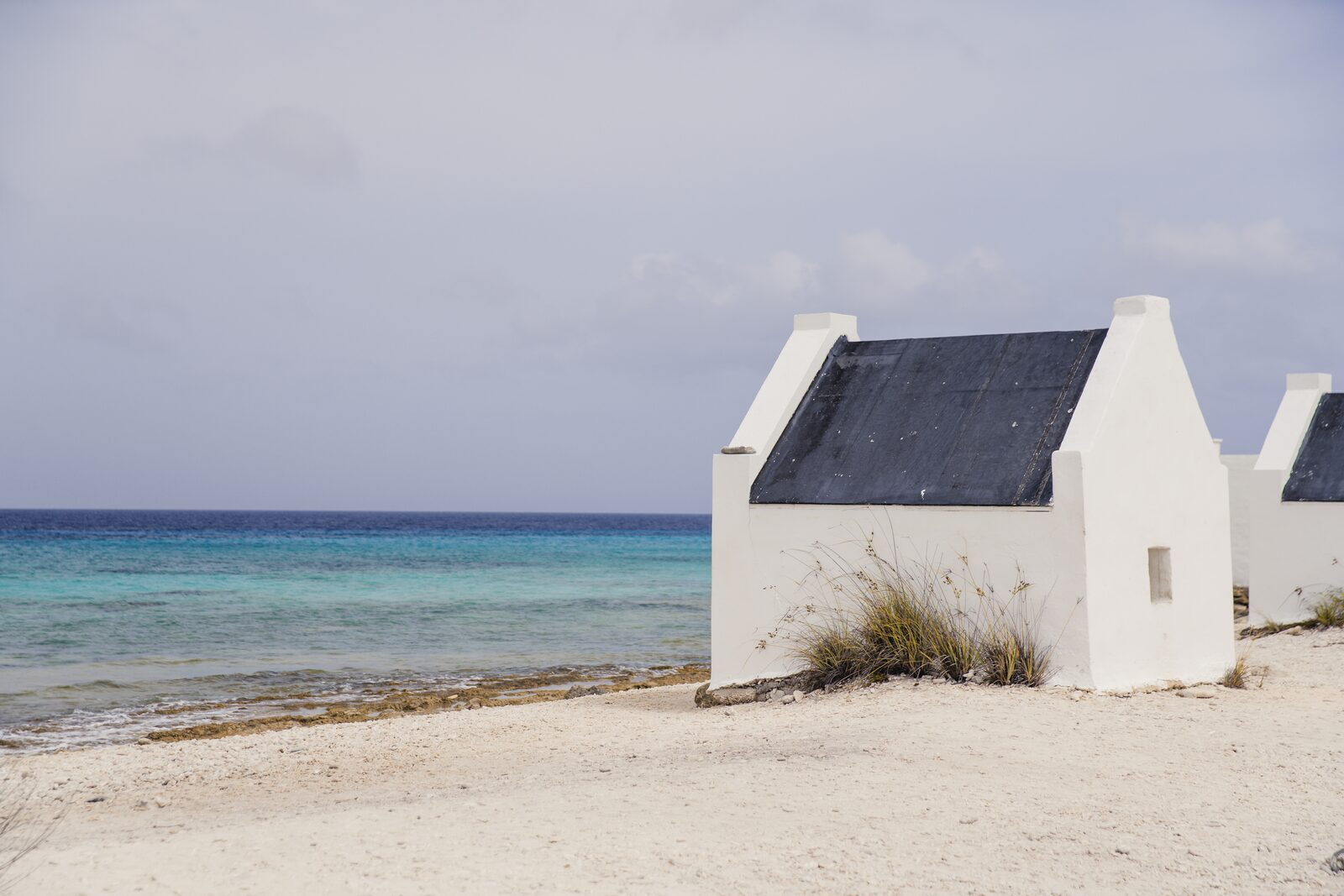 Slave cabins at Bonaire