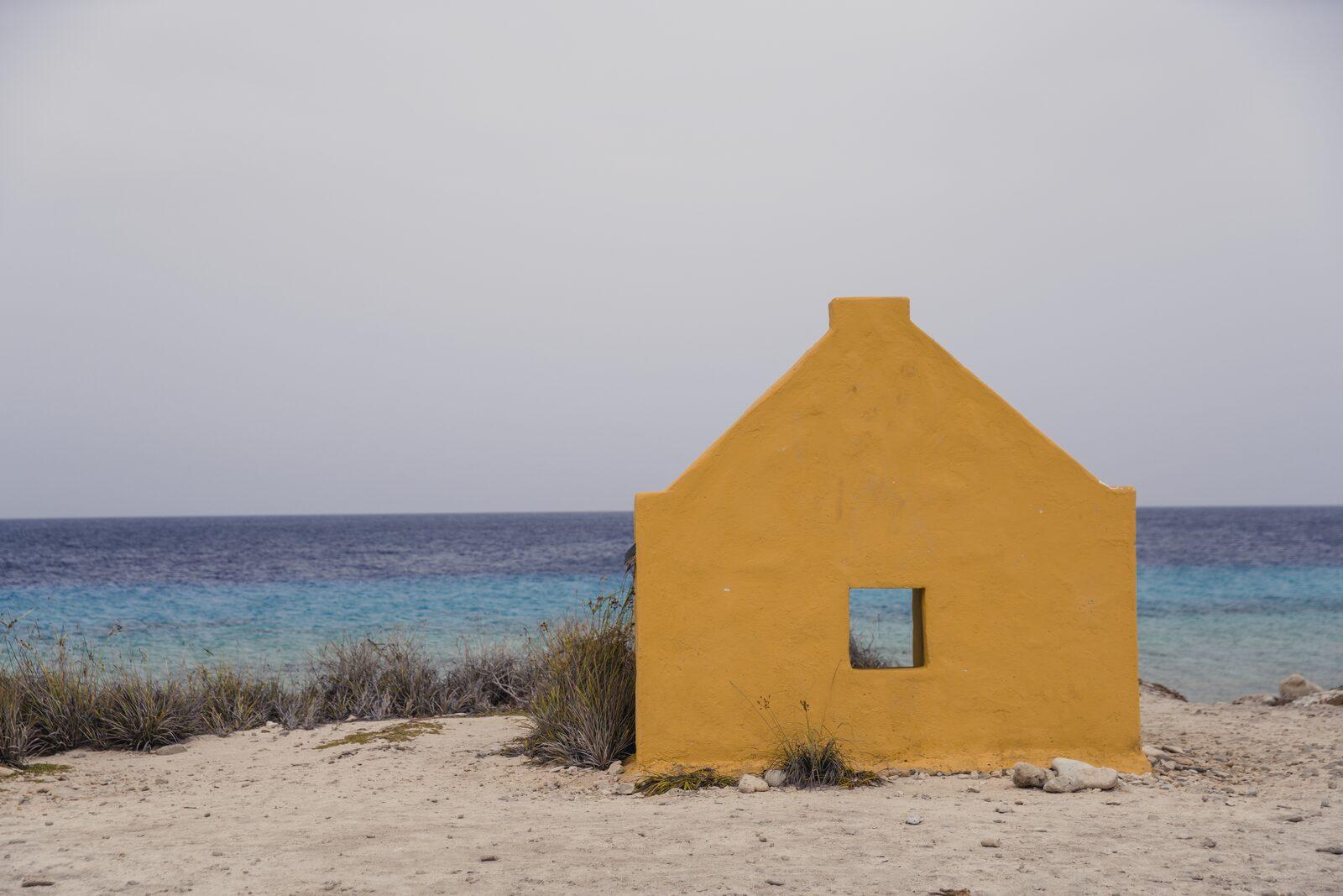 Huttes d'esclaves à Bonaire