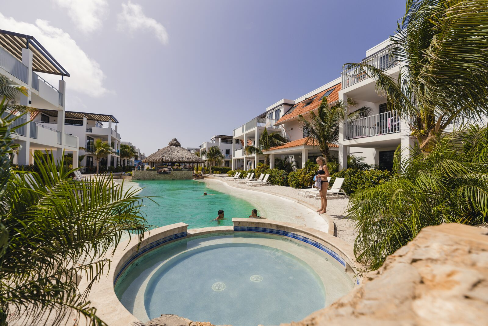 Piscine Resort Bonaire