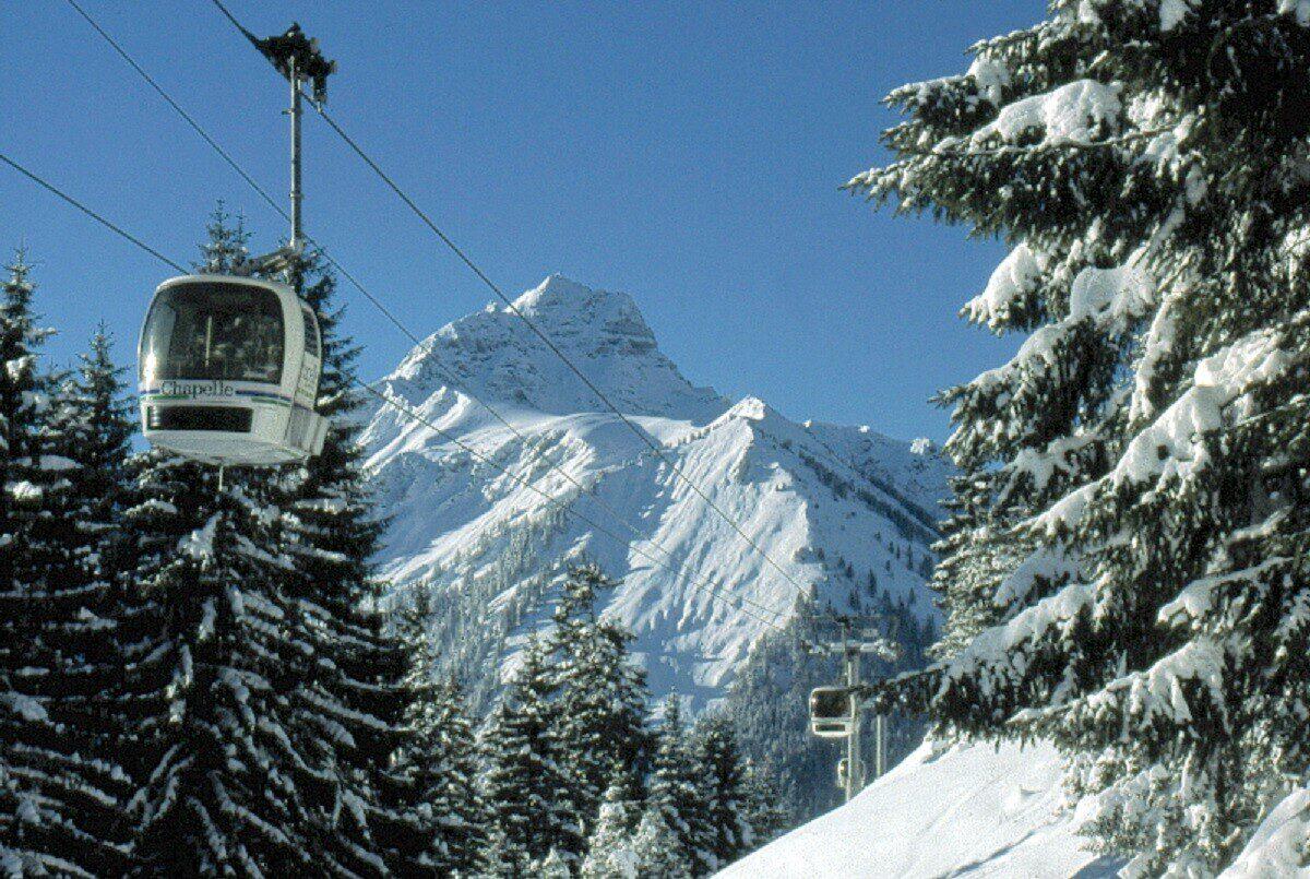 Ski resort La Chapelle d'Abondance