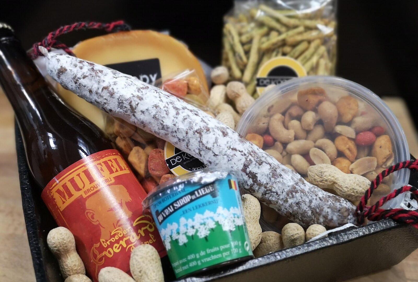 Kerstpakket bij Kerstborrel in Voorthuizen