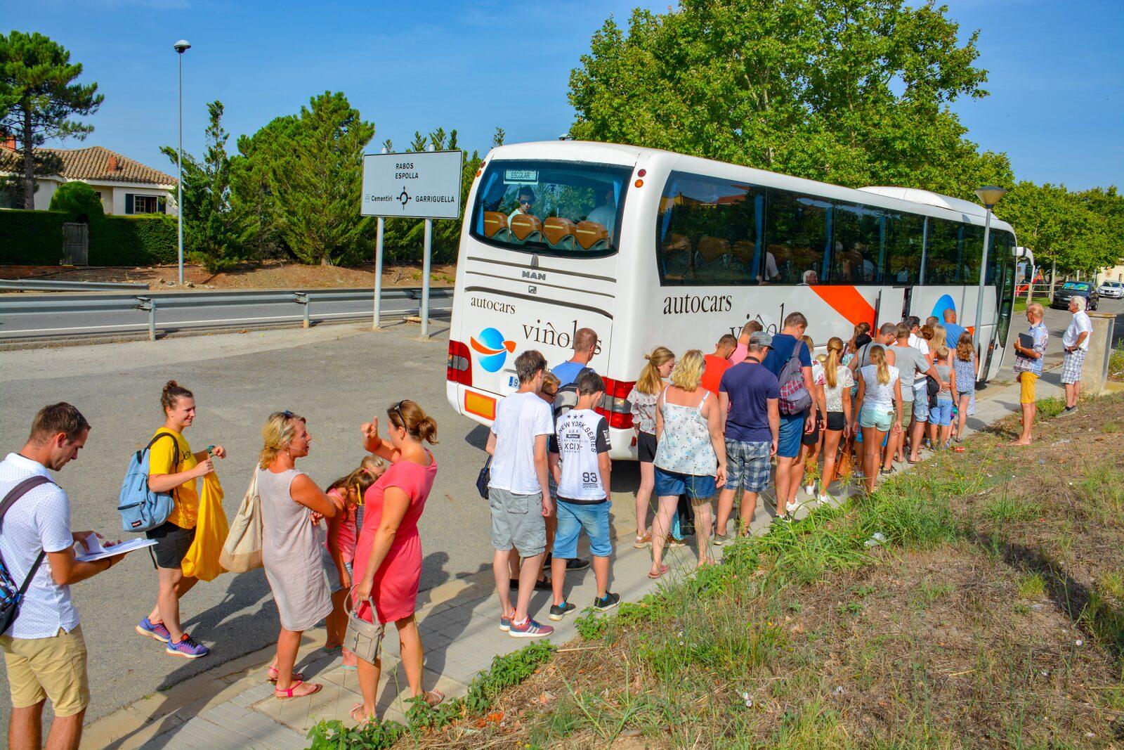 Busreis Barcelona vanaf Vell Emporda