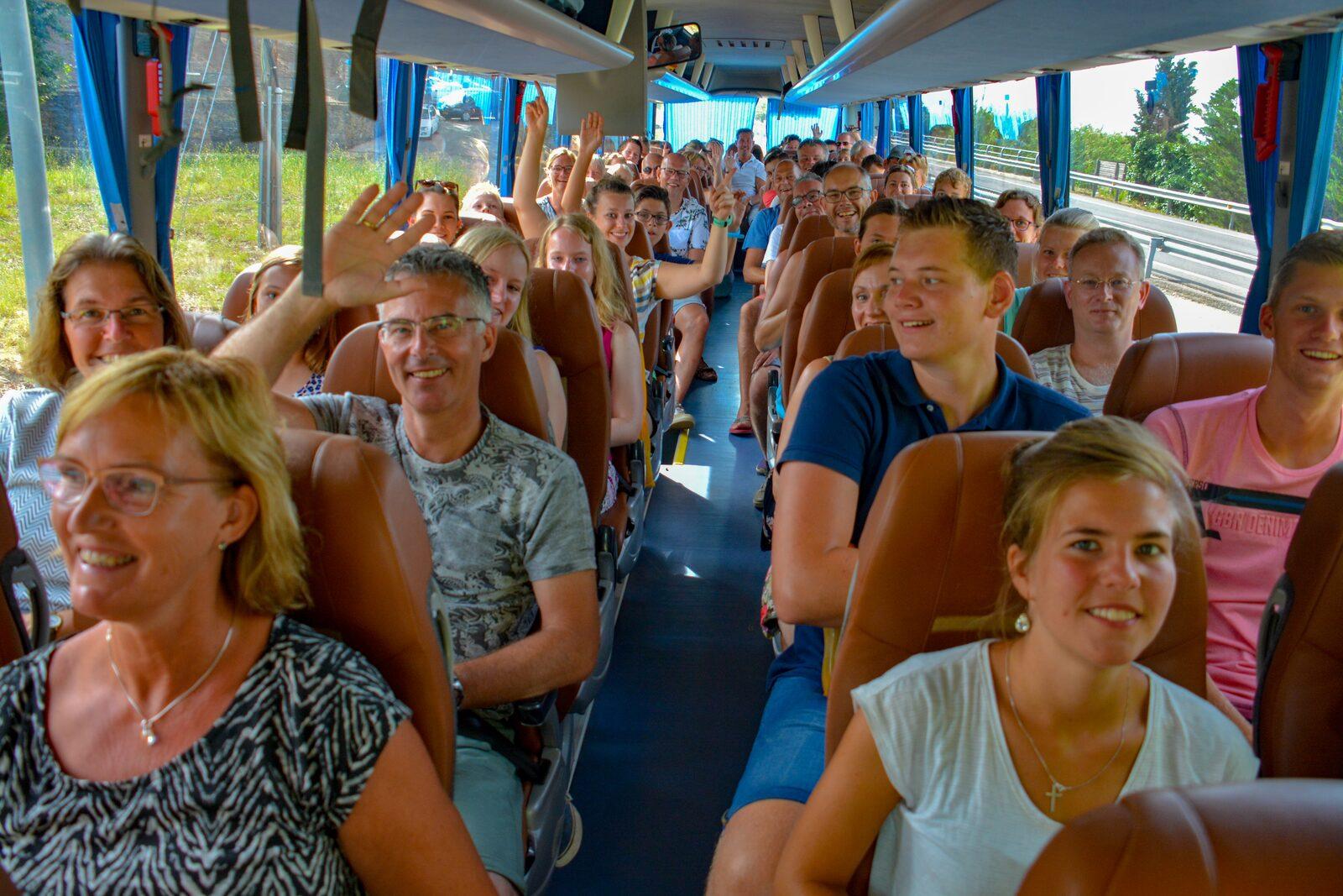 Bus naar Barcelona