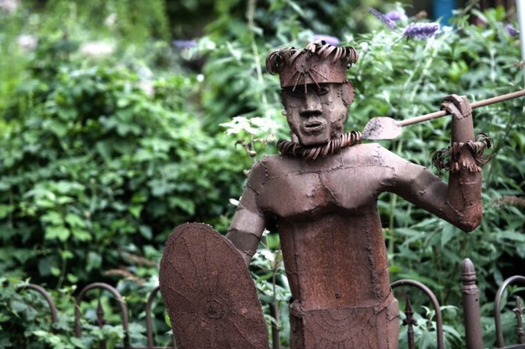 Garden Walk Iron Art