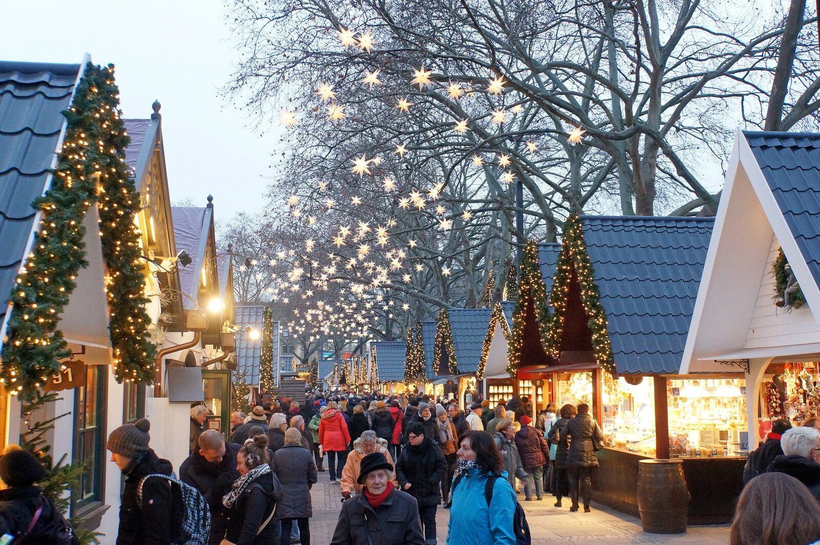 Christmas city Valkenburg