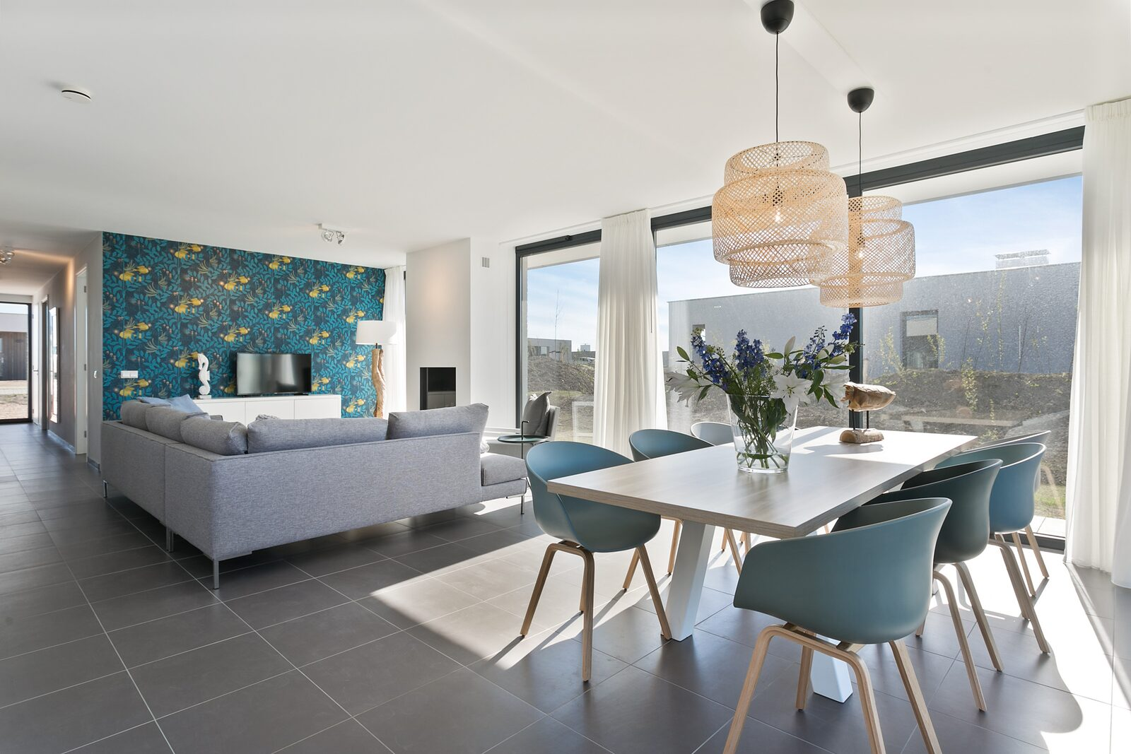 Luxus-Ferienvilla zeeland waterlijn 19 de groote duynen