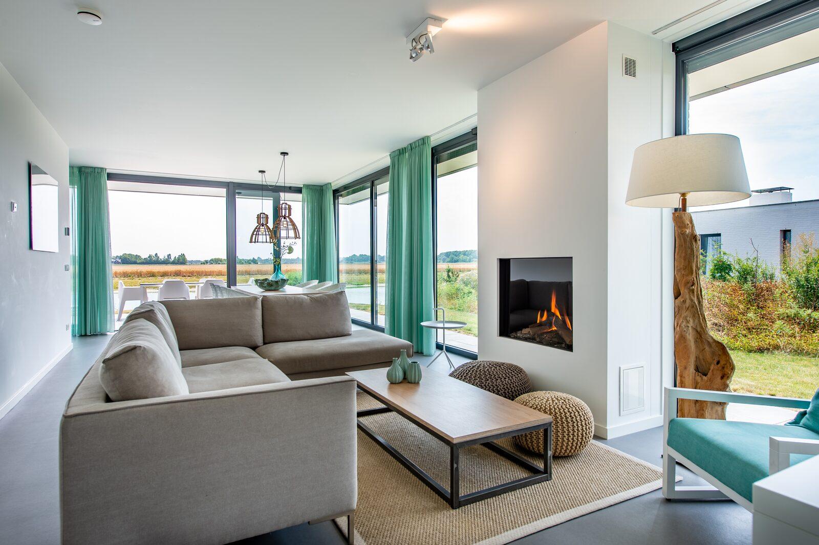 Luxus-Ferienhaus zeeland waterlijn 22 de groote duynen