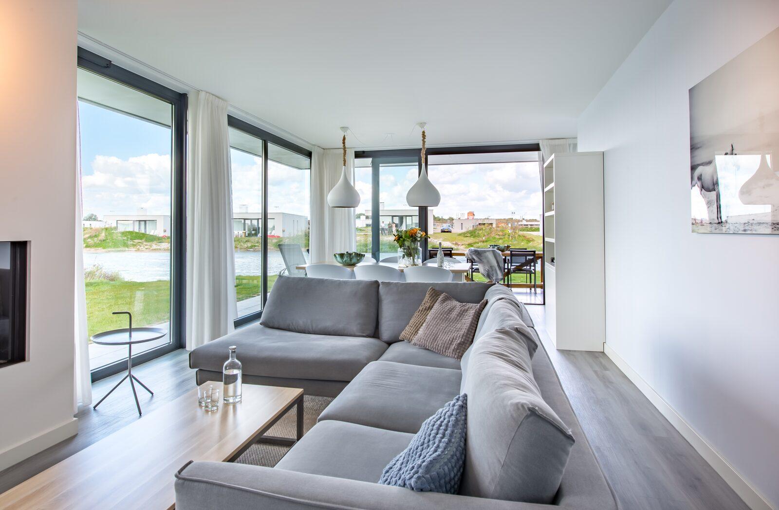 Luxus-Ferienhaus zeeland waterlijn 13 de groote duynen