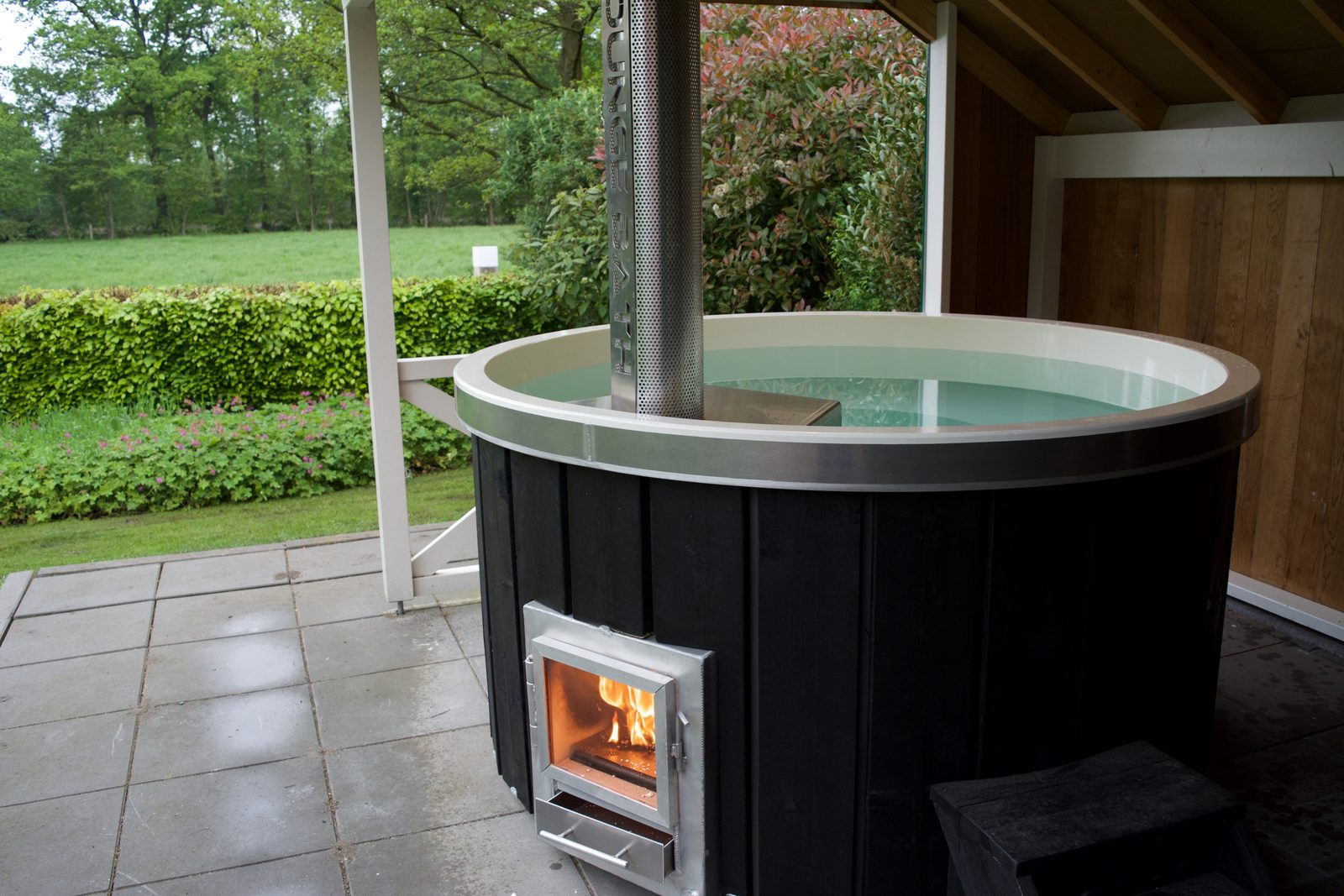 Holiday home with hot tub