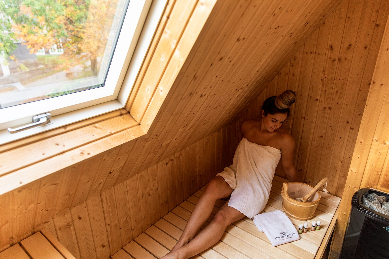 Rent a cottage with sauna
